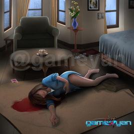 Murder Mystery - 2D Puzzel Game by GameYan 2D Concept Art – California, USA