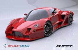 Supercar B2-Spirit