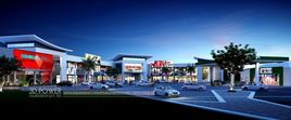 Architectural Rendering Of Oshikuku Shopping Mall