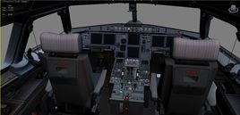 Airbus A-320 Virtual cockpit