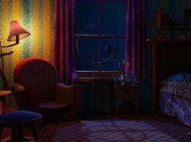 Mrs Park Apartment scene
