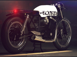 Cafe Racer Motorcycle