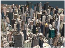 Megapolis city