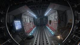 Aircraft cargo interior
