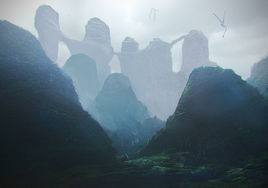 Environment Concept Design and Illustration