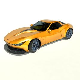 Kuhkri GT Sports Car - Original Design