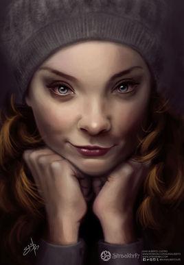 Natalie Dormer Portrait