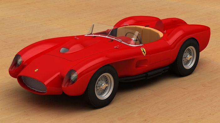 3d Printed Ferrari 250 Testa Rossa Cgtrader