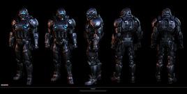 """Mass Effect 3 """"Citadel"""" DLC character"""