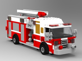 Modular Brick Fire Engine