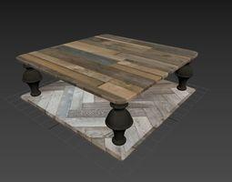 Coffe Table 3D asset