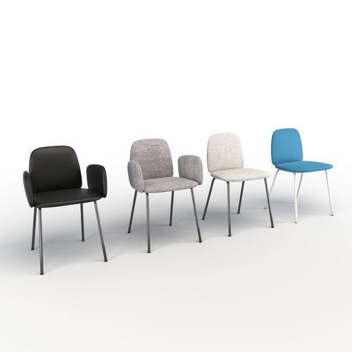 leda chair miniforms 3d model max obj mtl fbx mat 1