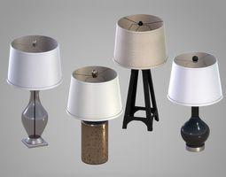 Interior Lamps Pack 3D model
