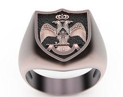 3D print model Ring Free Mason