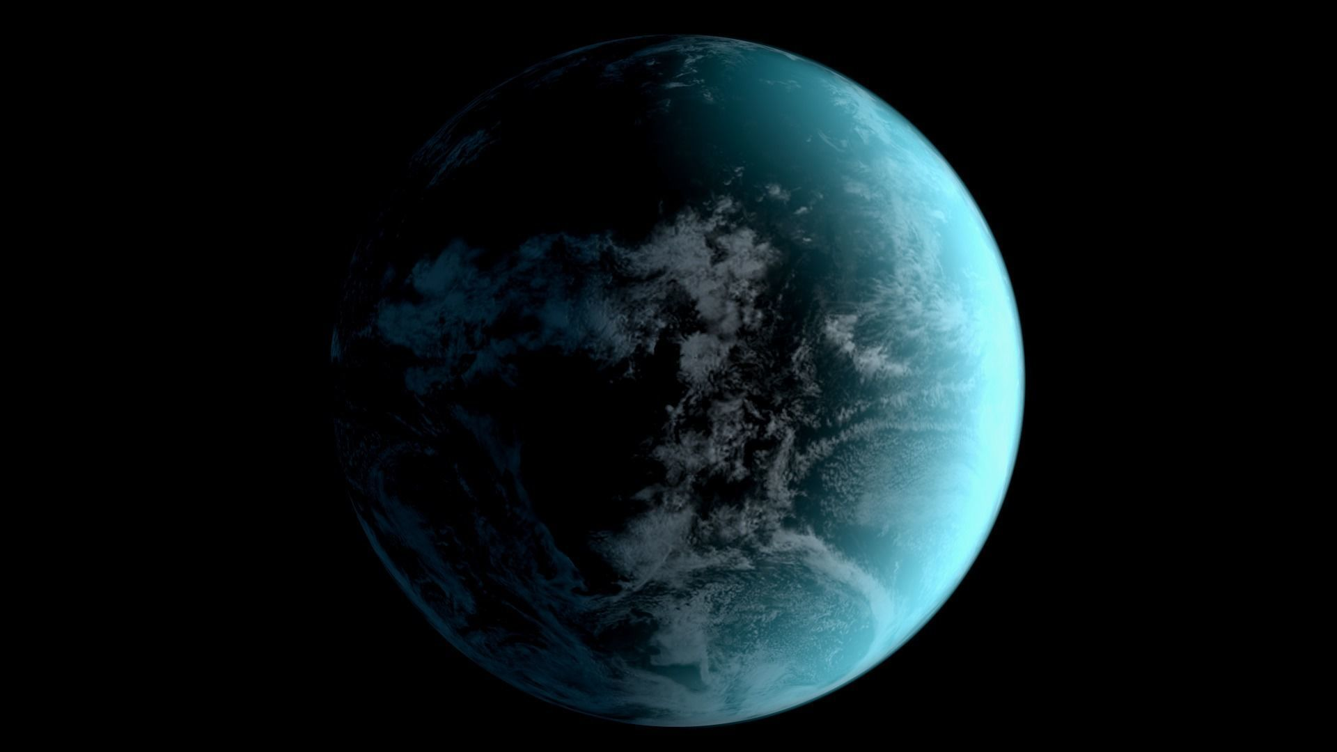 Earth Realistic Light