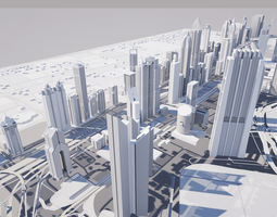 Dubai International Financial Centre 3D