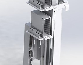 Cylinder drive mechanism 3D