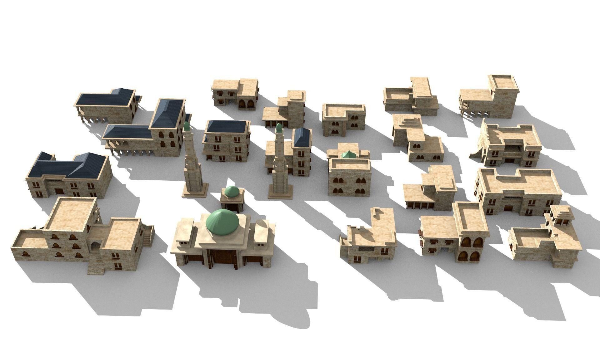 20 arabian building