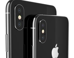 Apple iPhone XS and XS Max 3D model