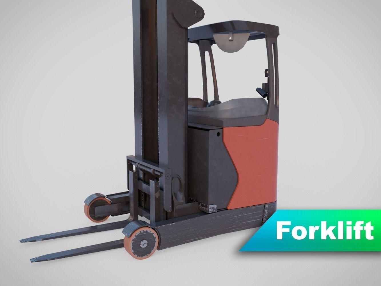 Forklift - Linde R 16