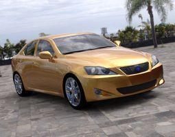 Luxury Sedan Car 2 for DAZ Studio 3D