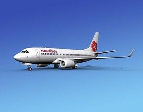 3D Boeing 737-700ER Hawaiian Airlines