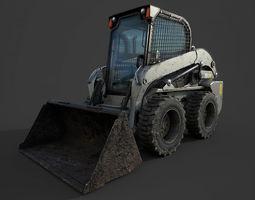 3D asset Tractor L218 Dirt