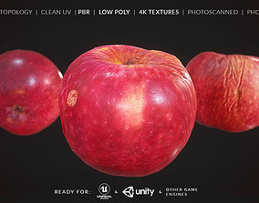 Apple Fruit - Photoscan 3D asset