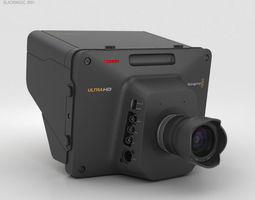 Blackmagic Studio Camera 4K 3D model