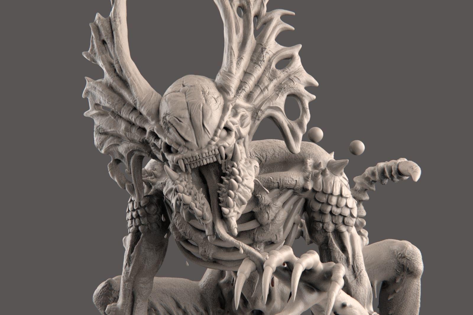 The Hunter - Alien Creature