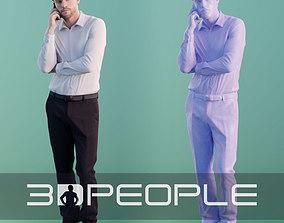 3D model Kenneth 10070 - Phone Call Business Men
