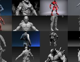 3D Sci-Fi Characters Part 2