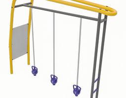 3D asset Playground Equipment 085