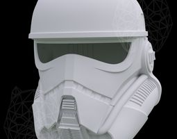 3D print model Patrol Trooper Helmet