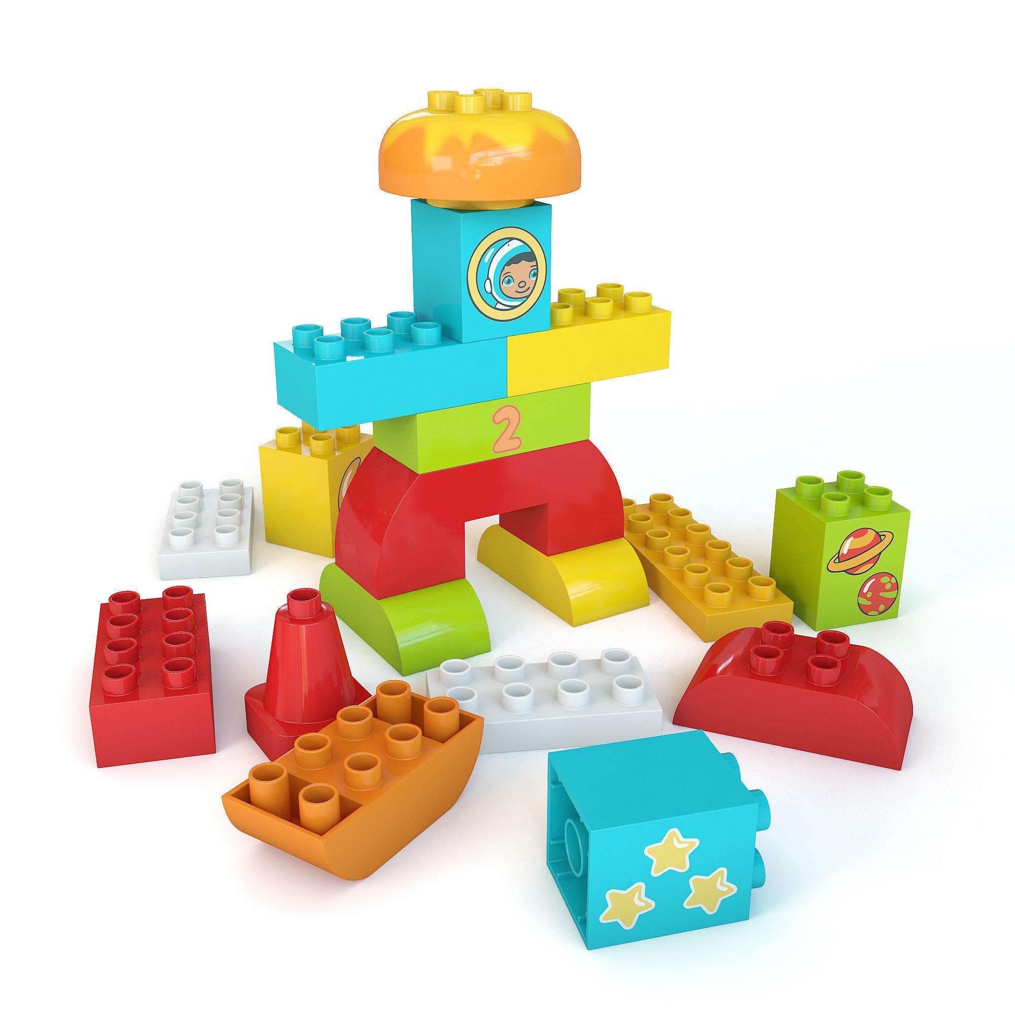3d Model Lego Duplo 10815 Cgtrader