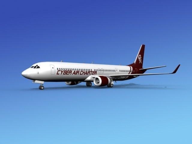 Boeing 737-900ER Cyber Air Charter