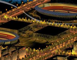 Grand Stadium 006 3D