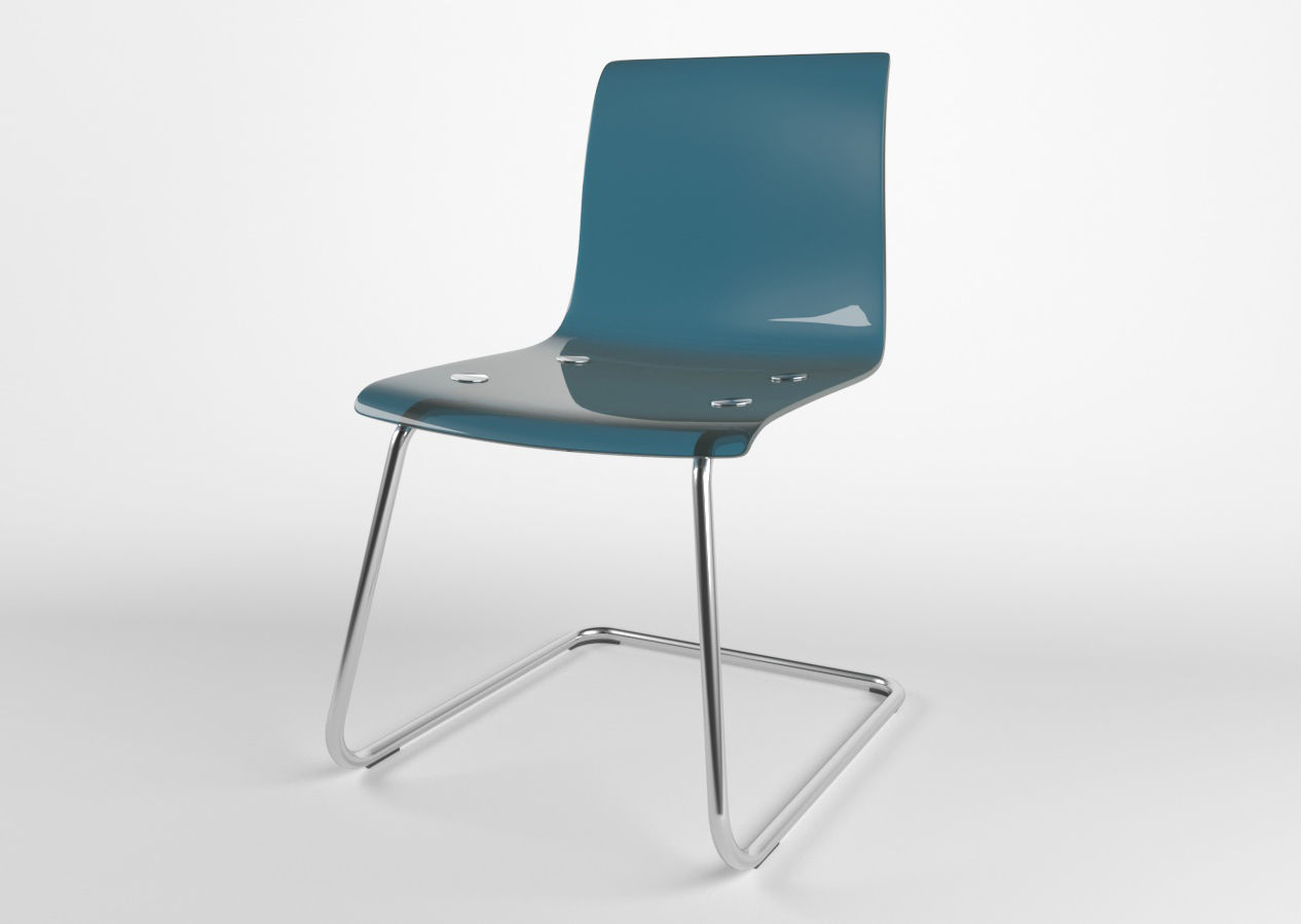 Chair Ikea Tobias 3D Model