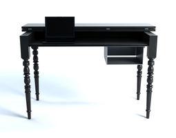 Moooi Two Tops Secretary Table 3D