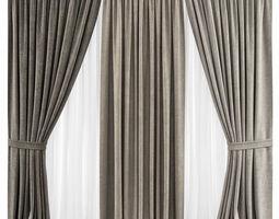 Curtains 27 3D model