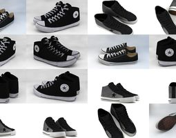 3D model converse collection