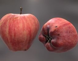 Red Apple 3D printable model