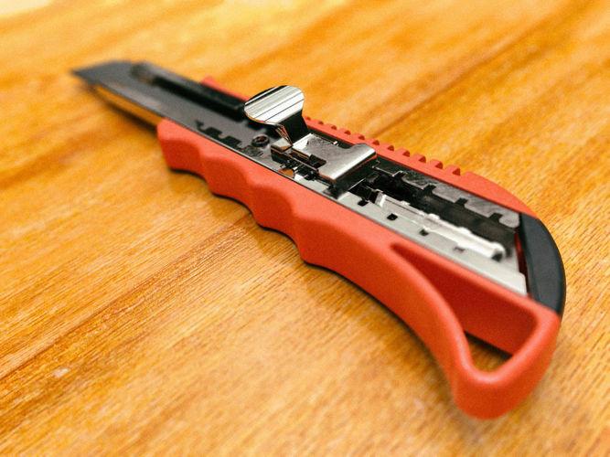 generic paper cutter - high detail 3d model obj mtl fbx stl dae skp ige igs iges 1