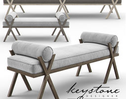 3D Camp Bench - Keystone Designer