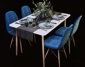 3D Dining Table interior