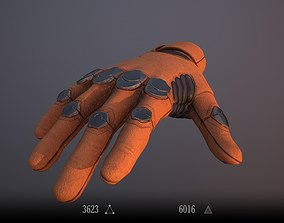 3D asset Sci-Fi Glove - Rigged and Animated
