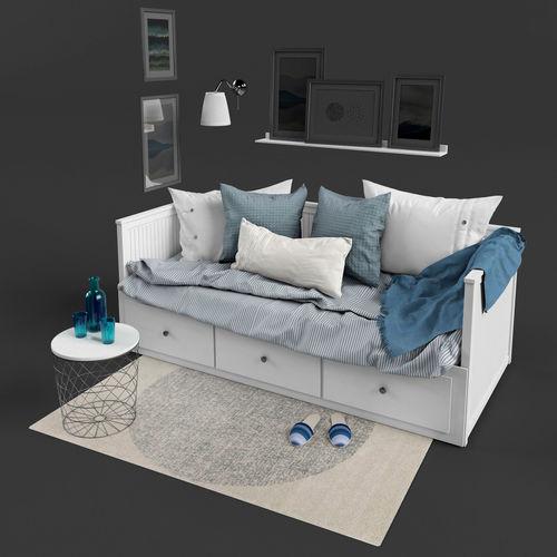 Great Ikea Hemnes Bed Creative