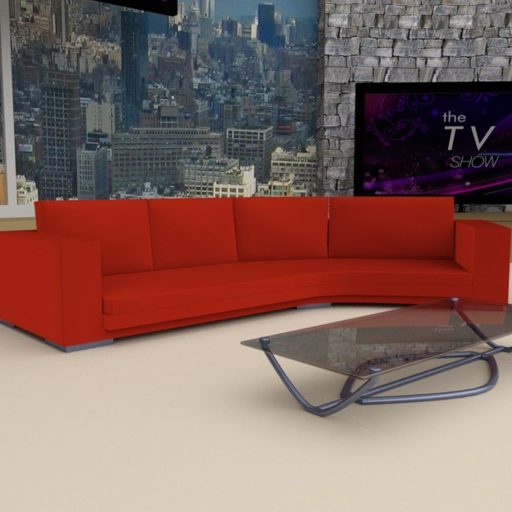 Daytime Tv Talk Show Set Model