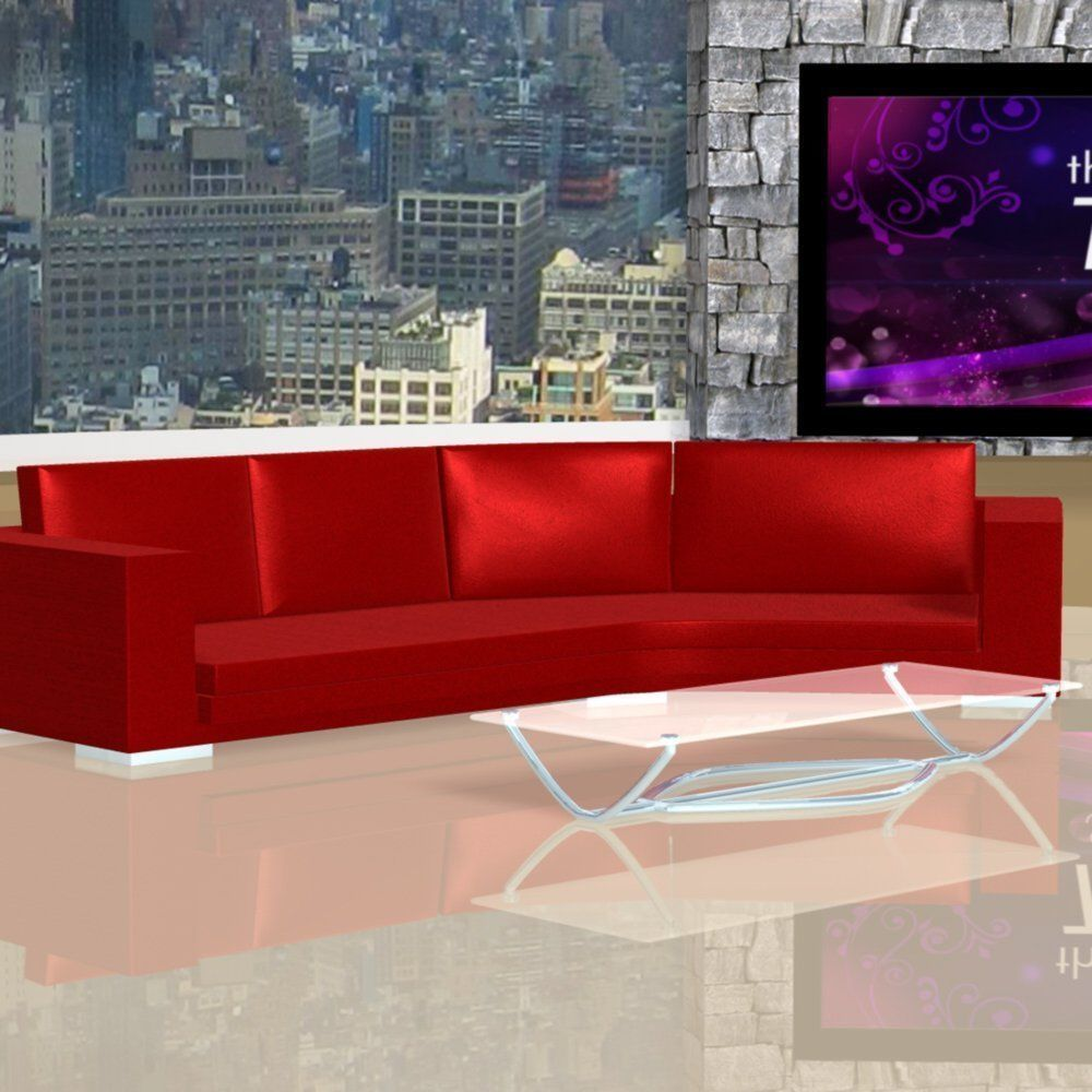 Daytime Tv Talk Show Set Model Obj Mtl Fbx Pz3 Pp2 Duf 3