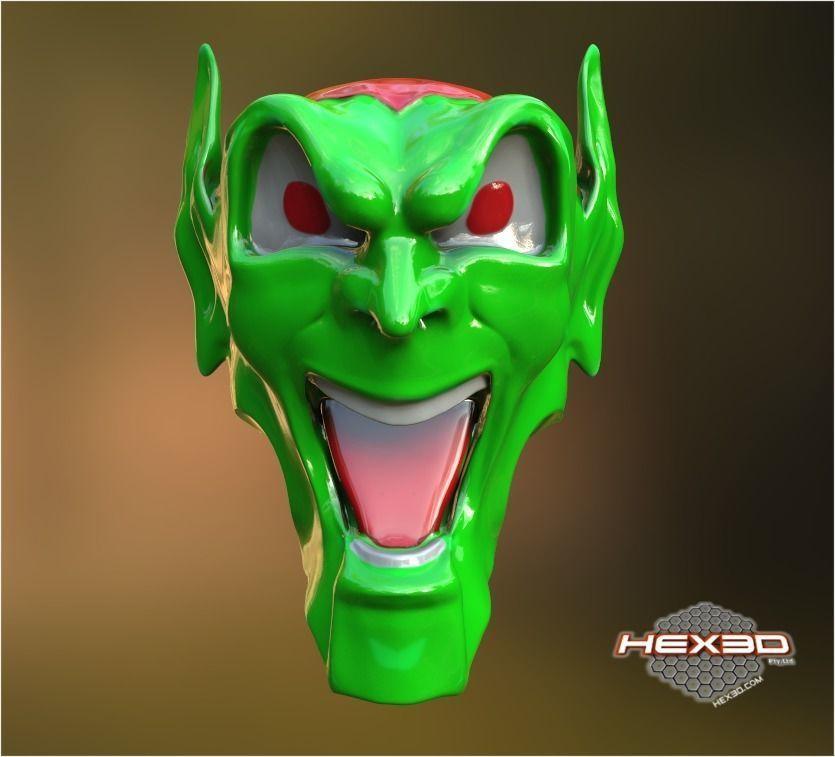 Maximum OverDrive Green Goblin Hood